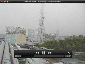 Web Cam Still from Fukushima Nuclear Power Plant