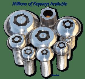 Bryce Key-Rex tamper-resistant fasteners