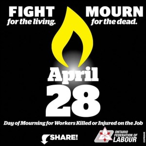 Apr 28 Day of Mourning