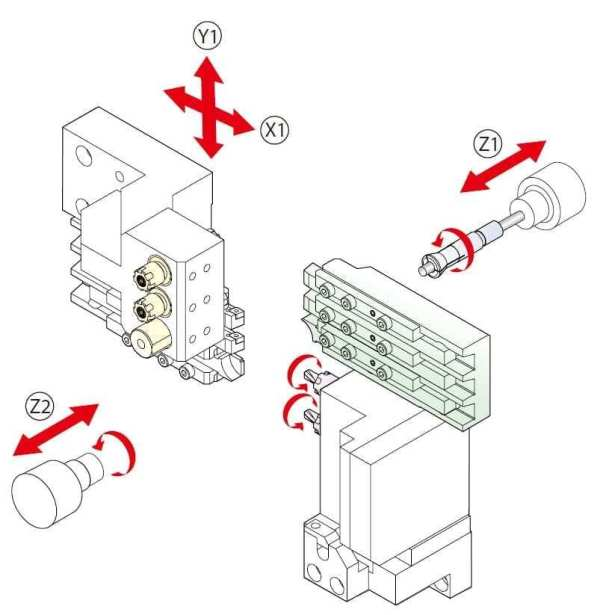 Hanwha xd03 tool layout