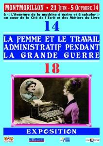 La femme et le travail administratif pendant la grande guerre