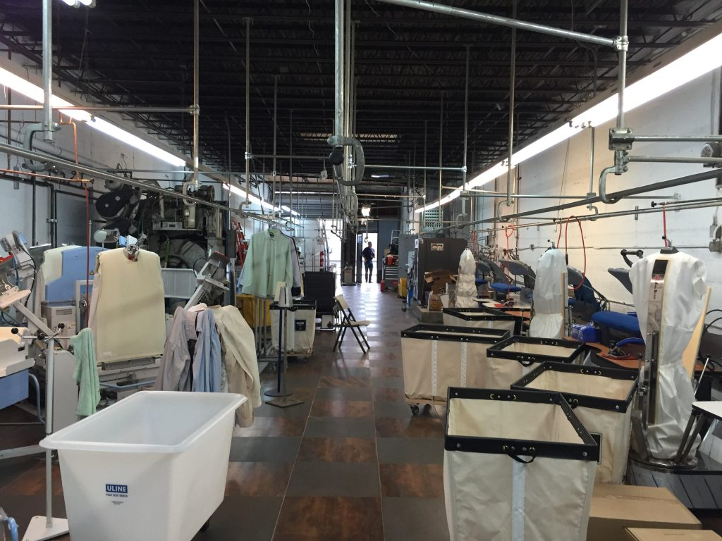 Commercial Build Out Portfolio A Machinery Commerical Dry Cleaning Amp Laundry Equipment