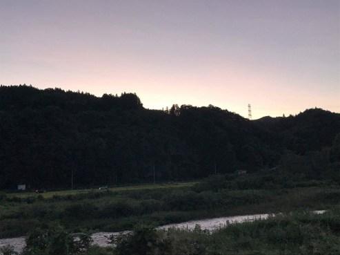 サイクリングロードからの風景(東舘 女性)