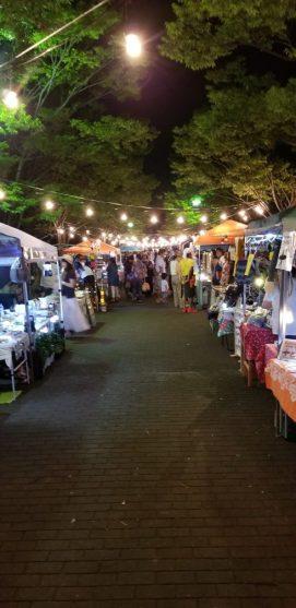 地元の夜市で個人的矢祭物産展やってみました(内川・男性)