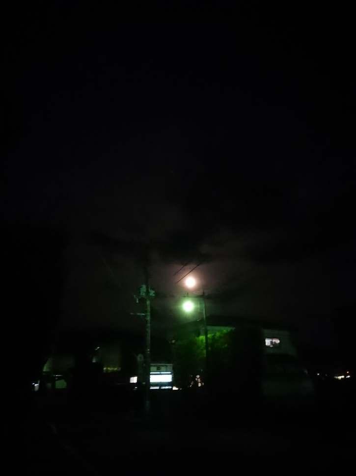 月と街灯(東舘・男性)