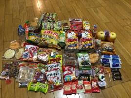 たくさんのお菓子!ありがとうございました。(東舘・女性)