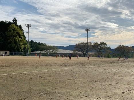 スポ少のサッカー大会(小田川・女性)