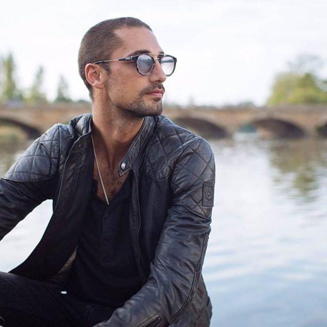Men Buzz Cut With Glasses - Novocom.top