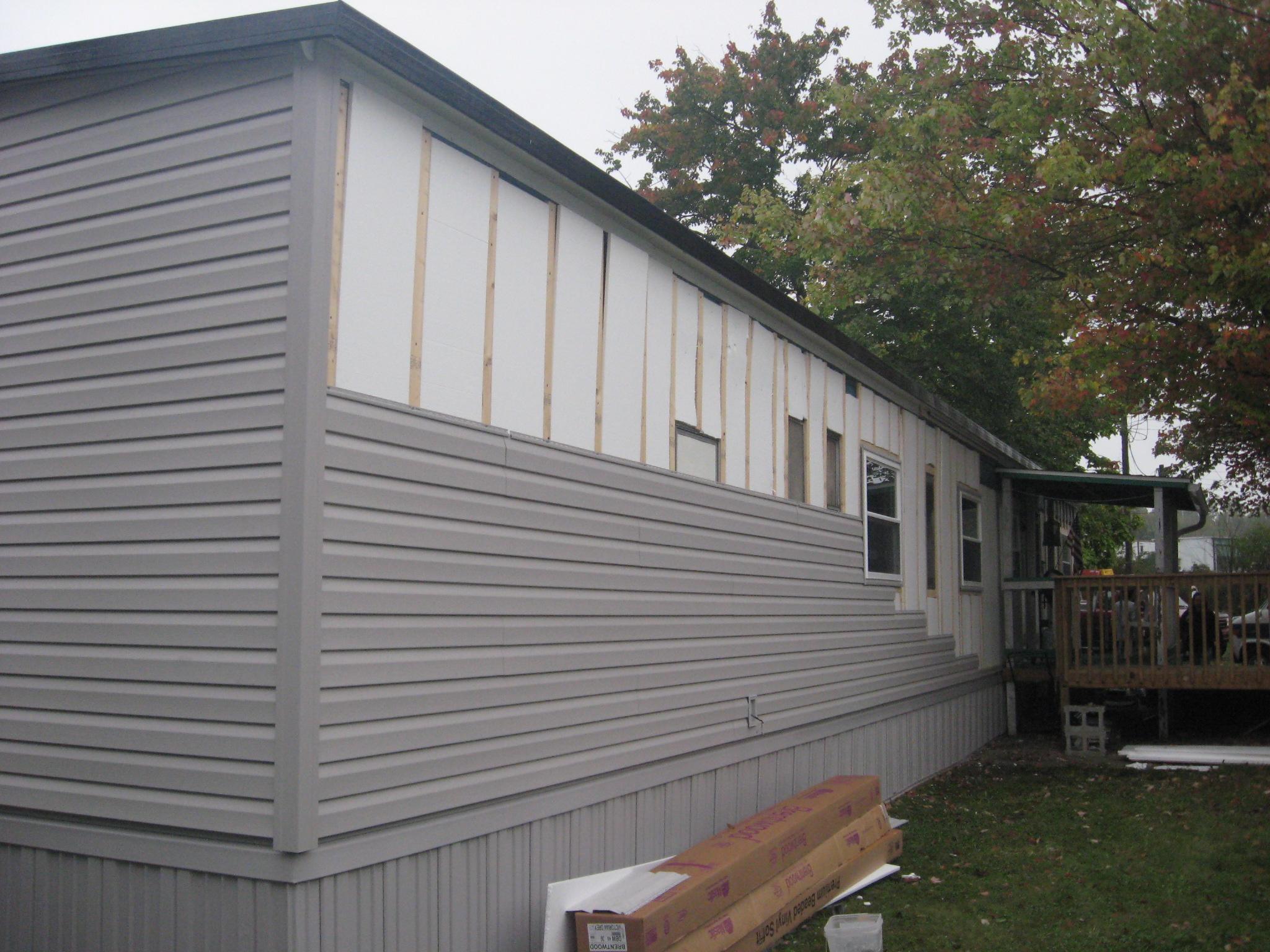Installation Mobile Skirting Home