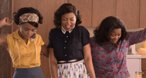 "Janelle Monáe, Taraji P. Henson, and Octavia Spencer play pioneering black NASA scientists Mary Jackson, Katherine Johnson, and Dorothy Vaughn in ""Hidden Figures"". Credit: 20th Century Fox."