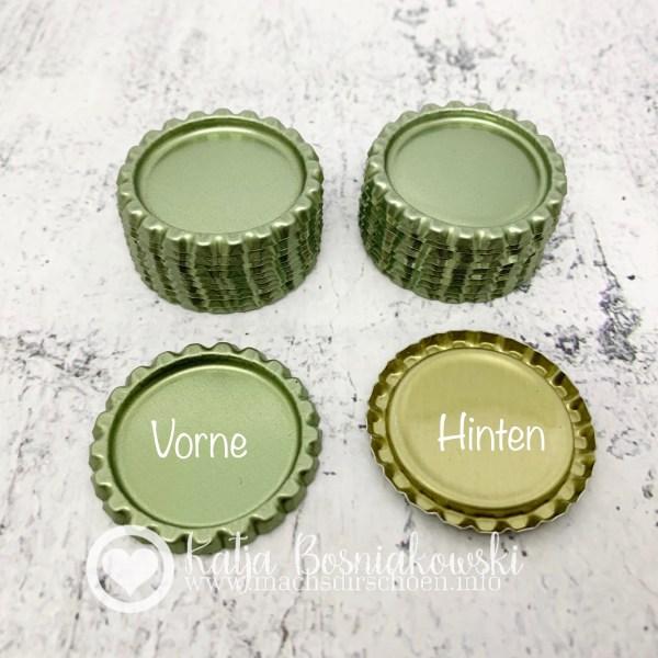 gepresste Kronenkorken | bottle caps (20 Stück)