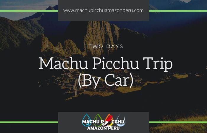 Cusco to Machu Picchu by bus