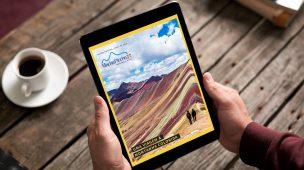 Revista Machu Picchu Brasil - Uma Viagem à Montanha Colorida