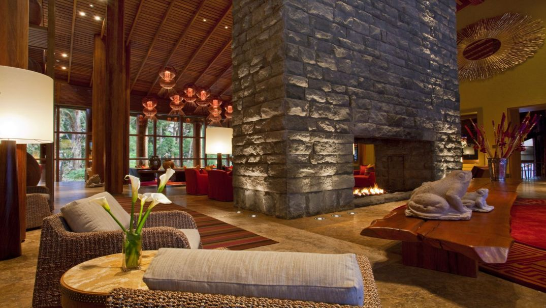 Lobby do Hotel Tambo del Inka Vale Sagrado