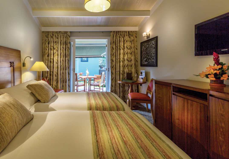 Quarto Deluxe, no Hotel Belmond Sanctuary Lodge, em Machu Picchu