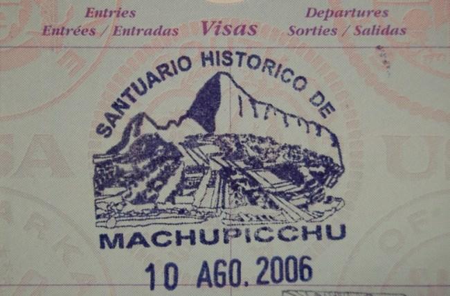 Como conseguir o carimbo de Machu Picchu no passaporte?