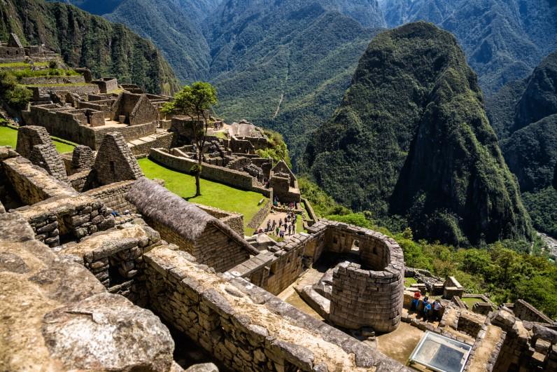 ruínas de machu picchu - templo do sol