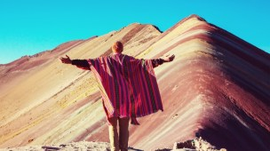 Montanha Colorida no Peru