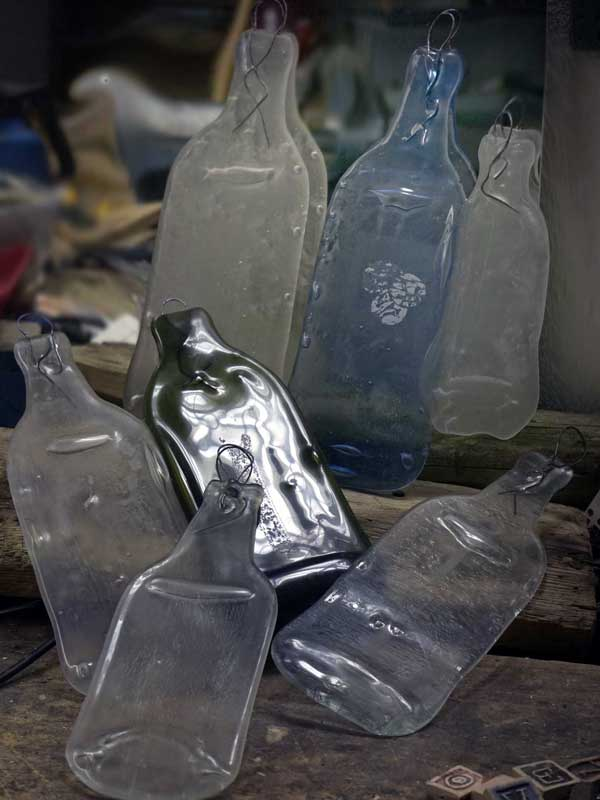 Auch die größte Flasche taugt für was....