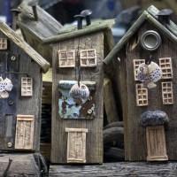 Fischerhütten - Altholz, Keramik und Schrott