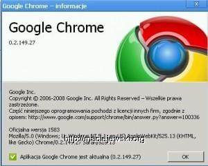 Chrome w statystykach? Niestety będzie widać Safari.