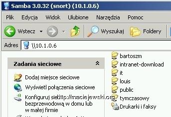 Samba pod NetBSD