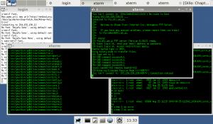 XFCE4 1024x600 NetBSD/Aspire One