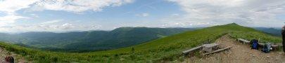 Panorama Połoniny Caryńskiej