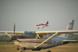 Aeroklub wrocławski, Szymanów, Basile, śmigłowiec, szybowiec, samolot