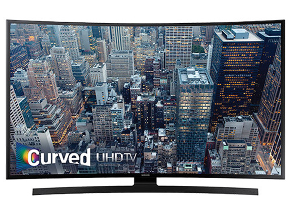 "Samsung JU6700 Series 55""-Class 4K Smart Curved LED TV"