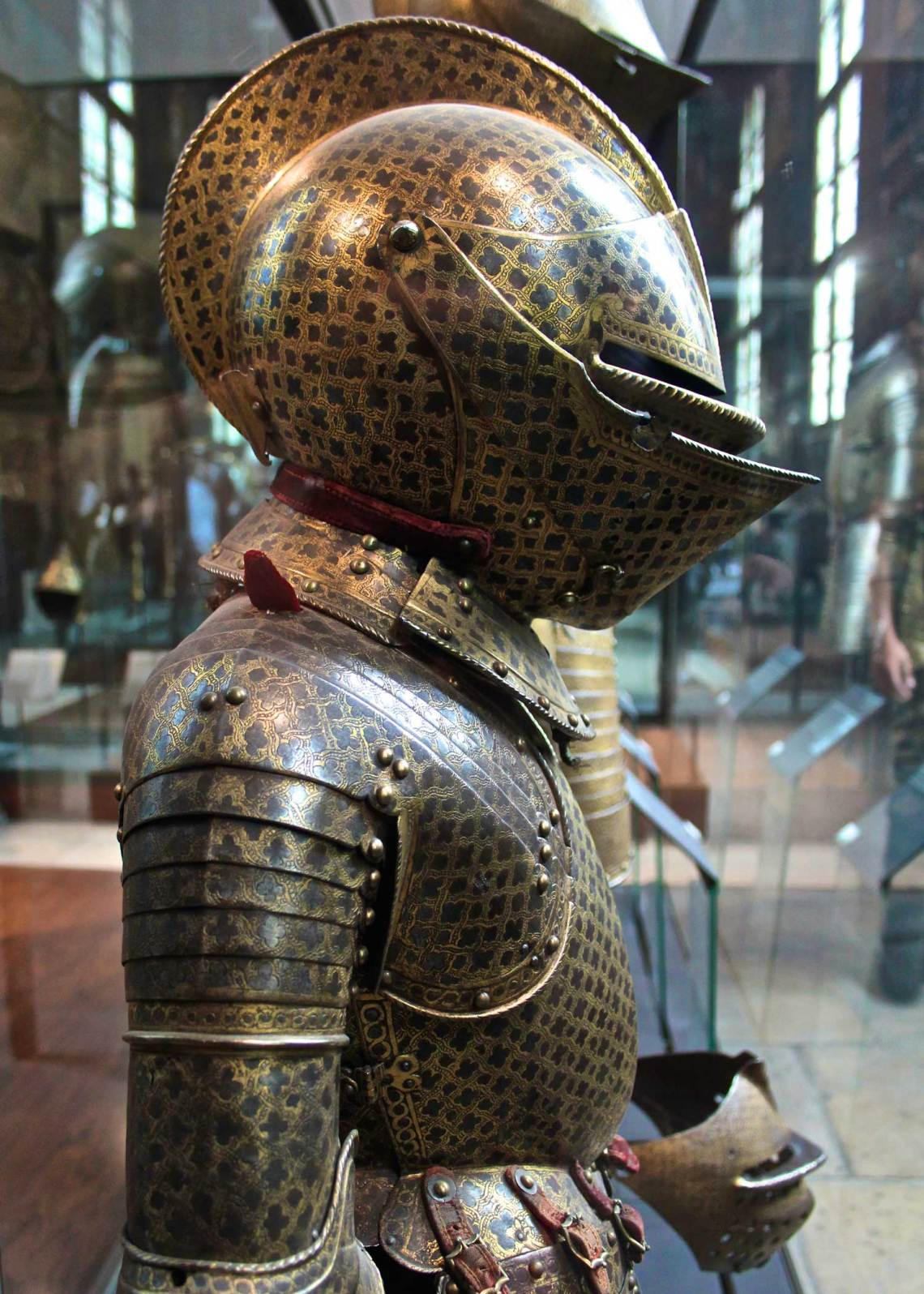 Musee des Invalides, Knight, Paris, France, King, Suit, Armour