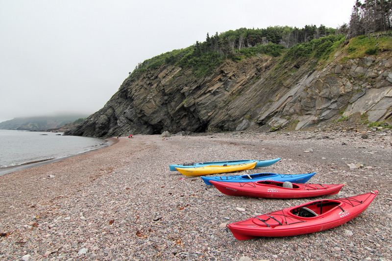 Kayak, Meat Cove, Nova Scotia, Cape Breton, Ocean