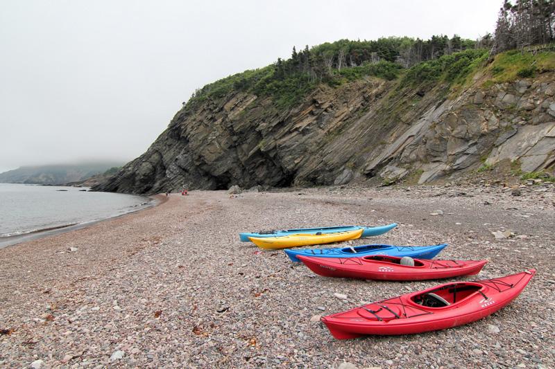 Kayak, Meat Cove, Nova Scotia, Cape Breton, Ocean