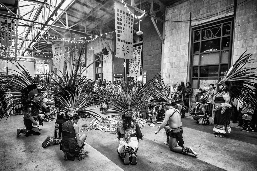 Circle, Day of the dead, Halloween, Wychwood Barns, Traditional, Dance
