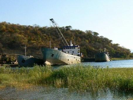Mpulungu port