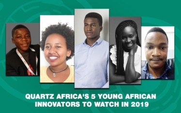 Quartz Africa's 5 Young African Innovators to Watch in 2019