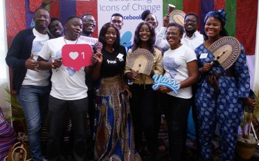 "Facebook Celebrates Africa's ""Icons of Change"" in Ghana."