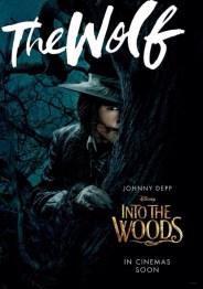 Johnny Depp som The Wolf
