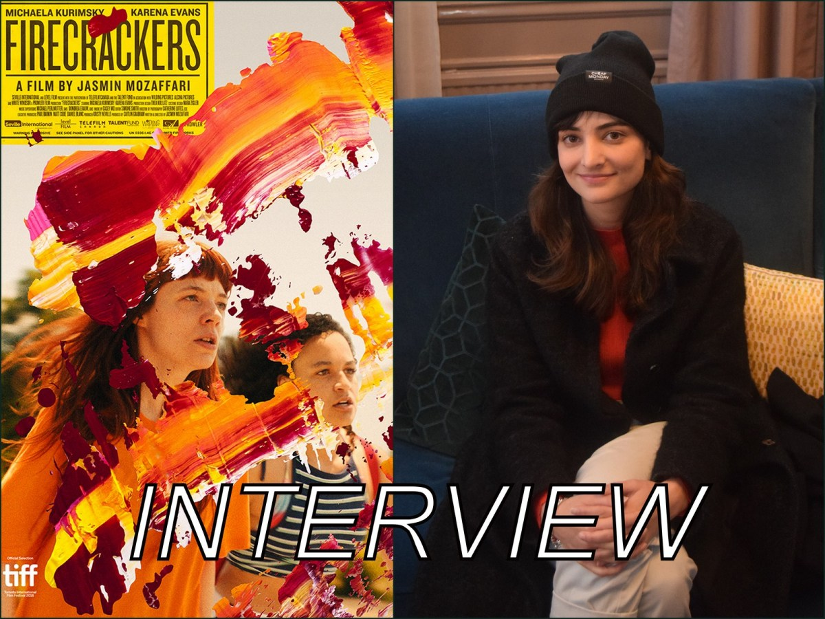 Interview with Jasmin Mozaffari - Director of Firecrackers (2018)