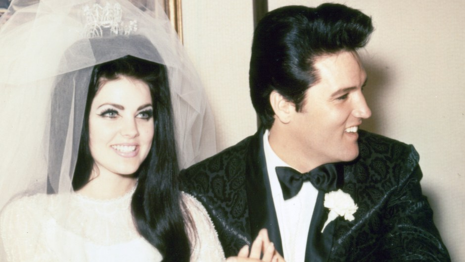 Elvis Presley And Priscilla