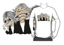 A garment from the MacKayCartoons Boutique