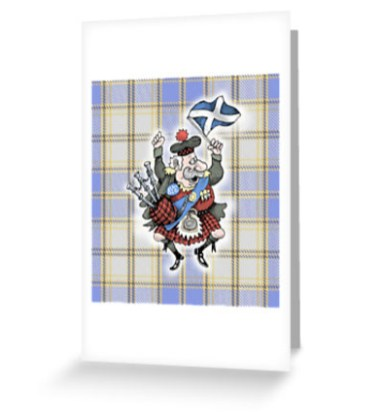 Angus MacScotland Greeting Card