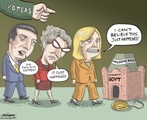 Election Draft Cartoon