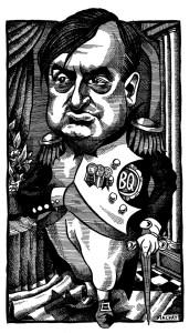 Lucian Bouchard as Napoleon
