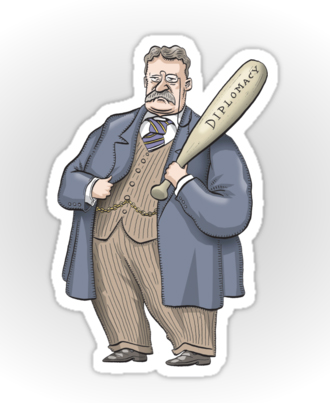 Teddy Roosevelt sticker