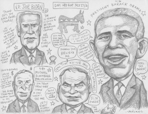 Wednesday Night live sketch of DNC2016