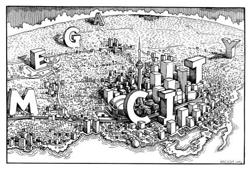 Toronto Megacity, 1996