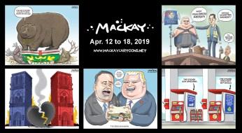 Apr. 12 to 18, 2019