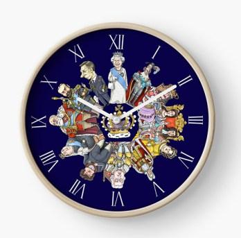 Monarchy clock
