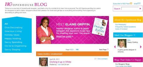 homegoods, blog engagement, blog marketing
